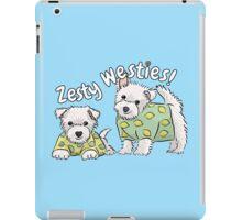 Zesty Westies! iPad Case/Skin