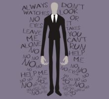SLENDER MAN The 8 Pages  by KunFuzi