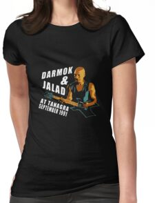 Darmok & Jalad at Tanagra ST TnG (Dark ONLY) Womens Fitted T-Shirt
