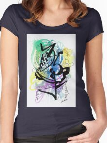 Healing Portraits Women's Fitted Scoop T-Shirt