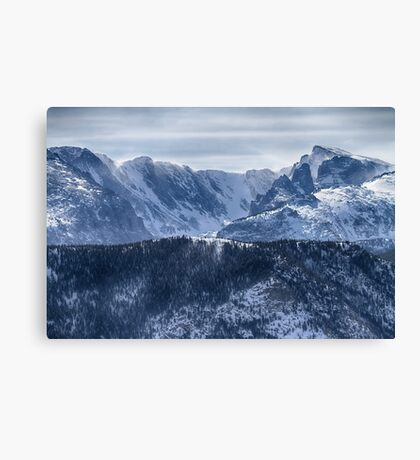 Continental Divide CO Rocky Mountains National Park Canvas Print