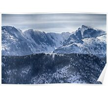 Continental Divide CO Rocky Mountains National Park Poster