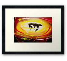 Abduction- Unique Urban Art Photography Framed Print