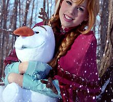 Frozen - Anna 001 by Courtoon