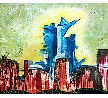 City Under Siege Photographic Print