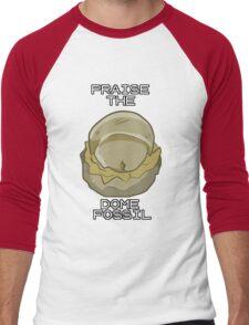 PRAISE THE DOME FOSSIL Men's Baseball ¾ T-Shirt