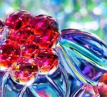 Abstract Glass Reflections by Anita Pollak