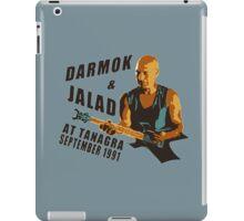 Darmok & Jalad at Tanagra (Light / Color version) iPad Case/Skin
