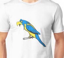 Bird funny animal cool natural comic Unisex T-Shirt