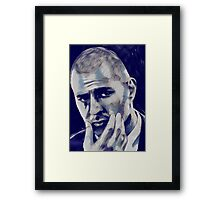 Karim Benzema Framed Print