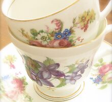 China Tea Cups by abbywerschler
