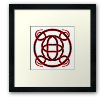 Celtic Woven Tattoo Framed Print