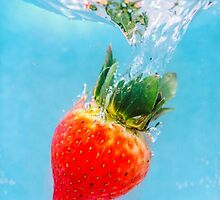 Underwater Strawberry by MMPhotographyUK