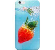 Underwater Strawberry iPhone Case/Skin