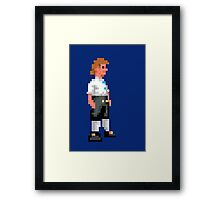 I wanna be a pirate! Framed Print