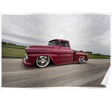 1958 Chevrolet Apache Poster