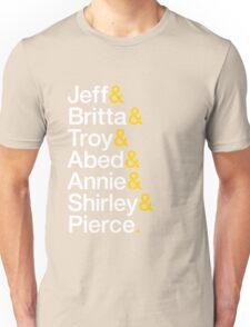 Community Character List v.2 Unisex T-Shirt