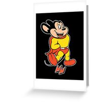 Mighty Greeting Card
