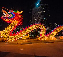 Chinese New Year Dragon by Russell Charters