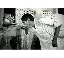 Water Station, Udaipur, India Photographic Print