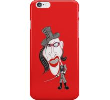 Dark Rock Metal 90's Funny Caricature iPhone Case/Skin