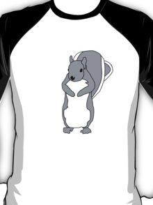 Cartoon Squirrel T-Shirt