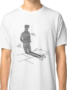 Shadow Cast Upon The Wall  Classic T-Shirt