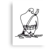 Bird animal war peace dove Canvas Print