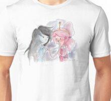 Princess Bubblegum x Marceline FIST BUMB KISS Unisex T-Shirt