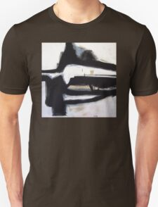 Inside the Room - New Black White Abstract Stylish Fine Art T-Shirt