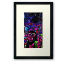 Psychedelic Jesus Reincarnate Framed Print