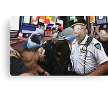 cops and robbers  Canvas Print