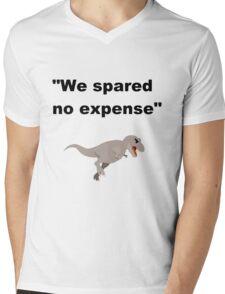Spared no Expense Mens V-Neck T-Shirt