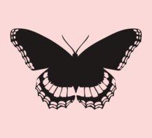 Butterfly Silhouette Kids Tee