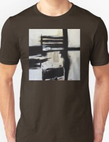 The Boxed Furnace- New Black White Abstract Stylish Fine Art T-Shirt