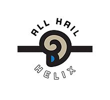 """ALL HAIL HELIX!"" Twitch Plays Pokemon Merchandise Photographic Print"