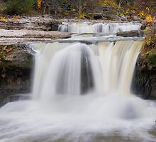 Splashing Cataract in Indiana by Kenneth Keifer