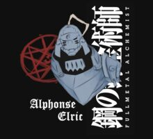 Alphonse Elric (White Text). by Dominic Searles