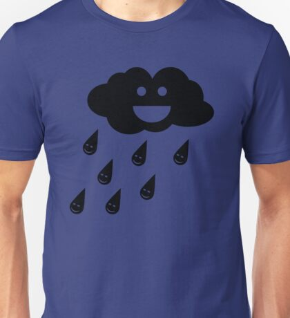 Smiley Raincloud Unisex T-Shirt
