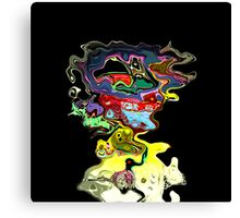 another head running crazzyyy Canvas Print