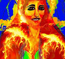 Fire Woman  by Saundra Myles