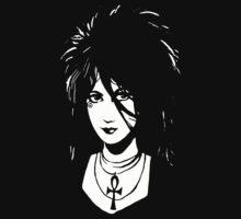 Sandman DEATH  Vintage Neil Gaiman Tribute  by mrkenray