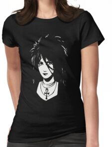 Sandman DEATH  Vintage Neil Gaiman Tribute  Womens Fitted T-Shirt