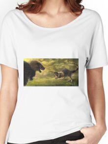 Tyrannosaurus Rex Standoff Women's Relaxed Fit T-Shirt