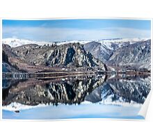 Lake Entiat-Columbia River Poster