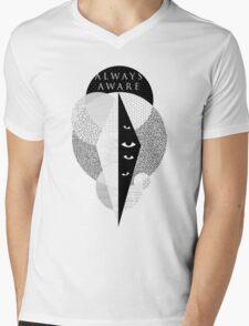 Always Aware Mens V-Neck T-Shirt