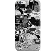 snapback by BLANKTOBAM iPhone Case/Skin