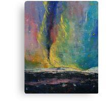 Arctic Lights Canvas Print