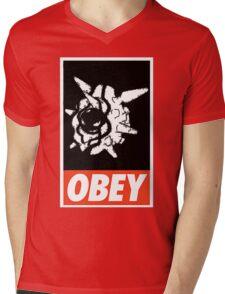 OBEY Cloyster Mens V-Neck T-Shirt