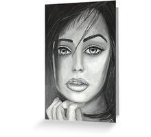 Fantasy Face Greeting Card